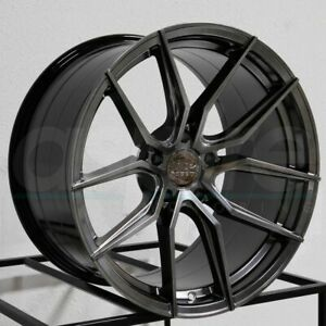 19x8 5 Xxr 559 5x120 40 Chromium Black Wheels Rims Set 4 72 56
