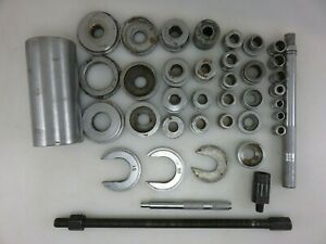 Snap on A 57 Bushing Bearing Race Seal Driver Set incomplete