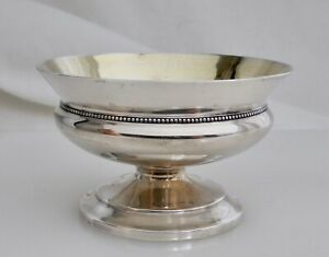 Antique Whiting Sterling Silver Footed Salt Cellar Dish 83107