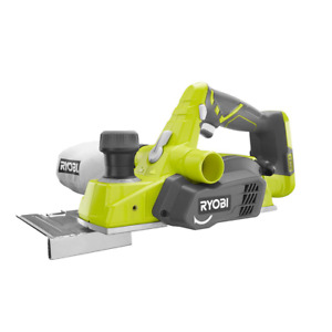 Ryobi Planer Tool Only Cordless Reversible Double Edged Blades One 18v 3 1 4 In