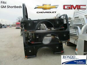 Chevy Gmc Short Bed Pickup Cm Sk Flatbed Replacement Body 4 Tool Boxes