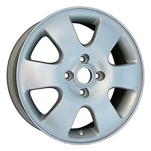 Wheel For 2000 2003 Ford Focus 16x6 Silver Refinished 16 Inch Rim