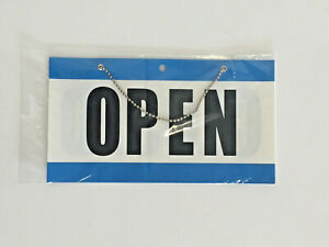 Open Closed Sign With Hanging Chain Large 10 75 X 6 Business Store