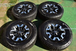 16 Toyota Tacoma Oem Factory Trd Offroad Wheels Tires 4runner Tundra 2021 Tpms