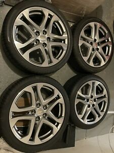2016 2017 Chevy Ss Sedan Staggered 19x8 5 19x9 Wheels 19 Rims Oem Factory Tires