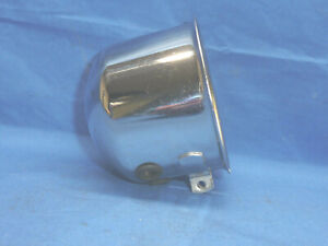 Vintage Sun Chrome Tachometer Pinch Mounting Cup Ct37