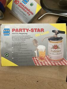 Party Star Deluxe Beer Or Soda Tap System With Two 5 Liter Kegs