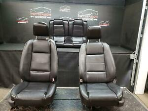 2007 Ford Mustang Front Power Bucket Rear Leather Seats Trim Code Jw Heated