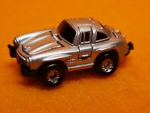 Vintage Micro Machines Deluxe 1955 Mercedes Benz 300 Sl Gullwing Silver 1988
