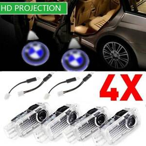 4pcs Led Car Door Welcome Projector Logo Courtesy Ghost Shadow Light For Bmw