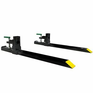 Titan Attachments 30 Light duty Clamp on Pallet Forks Rate 1500 Lb