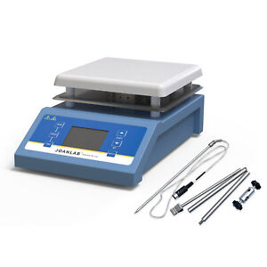 Magnetic Stirrer With Heating Plate Digital Hotplate Mixer W Timing Function 5l