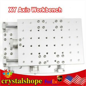 Workbench Worktable Xy Axis Laser Marking Machine Positioning Moving Work Table