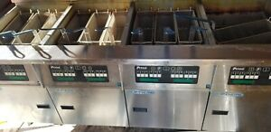 Pitco Solstice Supreme Ssh75 Commercial Deep Fryer Natural Gas Large Capacity