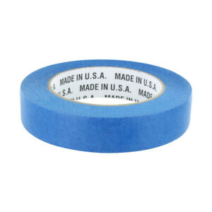 Rugged Blue M187 Painters Tape 1in X 60yd 21 Day Clean Release