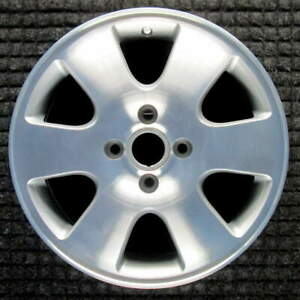 Ford Focus Machined W Silver Pockets 16 Inch Oem Wheel 2000 To 2003