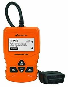 Actron Cp9660 Pocketscan Plus Abs Obd Ii Can Scan Tool For 1996 And Newer Veh