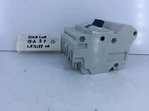 Federal Pioneer Stab lok 3 Pole 15 Amp Breaker Fpe Na Push In