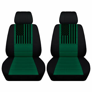 Truck Seat Covers Fits 2007 To 2013 Chevy Avalanche American Flag Variety Colors