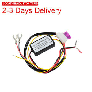 Us Location Led Daytime Running Light Automatic On Off Relay Control Module Box