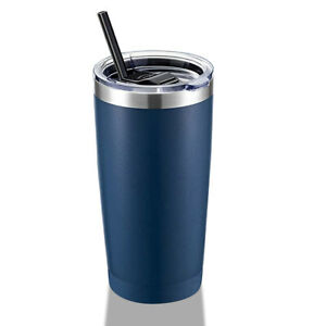 20 oz Stainless Steel Tumbler Double Wall Vacuum Insulated Coffee Cup Travel Mug $9.99