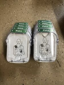Lot Of 8 Philips Onsite Heartstart M5071a Adult Smart Pads For Aed Exp 2020
