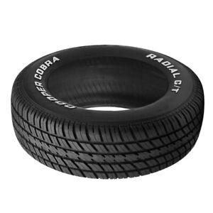 1 X New Cooper Radial G T P235 60r14 96t Tires