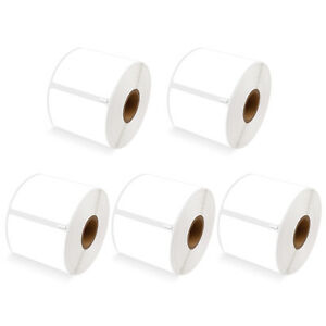 5roll 300 Barcode Mailing Postage Labels Direct Thermal Paper Tape 2 5 16 X 4