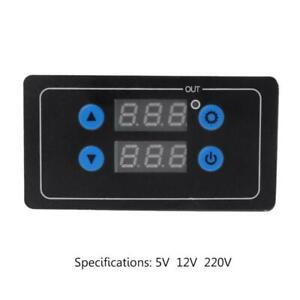 0 1s 999h Countdown Timer Control Module Time Dalay Relay Optional Voltage