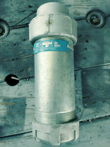 Crouse Hinds Xj88 3 Inch Expansion Joint Fitting Max Expansion 8 New No Box