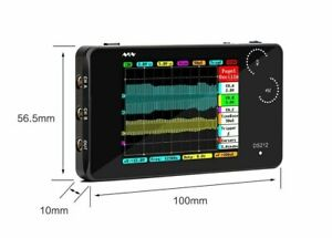 Ds212 Dso Portable 2 Channel Digital Oscilloscope Pocket Size Usb Interface 8mb