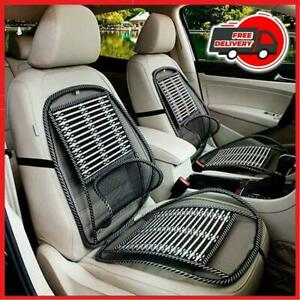 New Breathable Car Seat Cooling Lumbar Universal Massage Cushion Wire Bamboo Pad