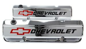 Proform 141 930 Aluminum Tall Valve Covers Fits Small Block Chevy Engines