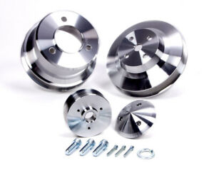 March Performance Aluminum Bbc Serpentine Performance Series Pulley Kit P N 7210
