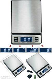 Digital Postal Scale Stainless Steel Shipping Mailer Supply Home Office Use 1 Pc