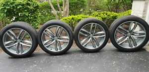 Audi Q7 2016 2021 Wheel 21 And Winter Tire Package Excellent Shape