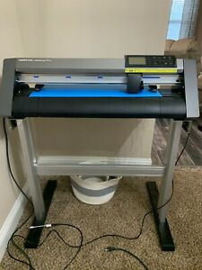 Ce6000 60 Plus 24 Graphtec Vinyl Cutter And Stand Excellent Condition
