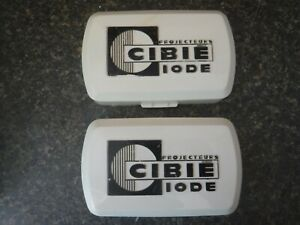 Cibie Iode Vintage Fog Light Covers Nice Condition
