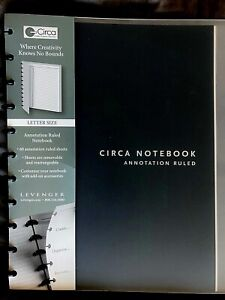 New Levenger Circa Annotation Ruled Notebook Letter Size Large Notes To do