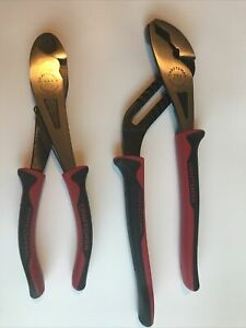 Craftsman Professional 10 1 2 Arc Joint Pliers 8 Cutters Usa 45766 45767