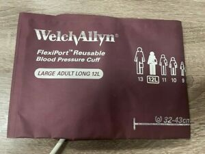 Welch Allyn Flexiport Reusable Large Adult Long 12 12l Blood Pressure Nibp Cuff