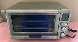 Breville Convection Smart Oven Counter Top Stainless Steel Bov800xl a Nwob Nice