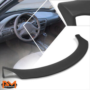 For 95 05 Chevy Cavalier Abs Front Dashboard Panel Cover Cap Bezel Overlay Black
