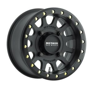 Method Race Wheels Rim Mr401 Utv Beadlock 14x7 4x156 Et38 5 3bs 132cb Black