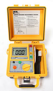 Ideal 61 796 Earth Ground Resistance Tester