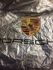 Porsche 911 Indoor Tarp Garage Car Cover Oem 997 Body 4s And S Coupe
