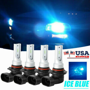 Led Headlights Lights Bulbs For Chevy Tahoe 01 06 Suburban 1500 2500 00 06 8000k