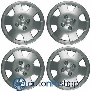 New 14 Hubcaps Wheel Covers For 2000 2005 Toyota Echo Set Of 4 Iwc19314s