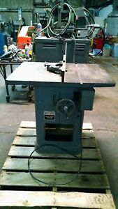 Rockwell Model 43 340 Heavy Duty Wood Shaper 1 Hp 230 460v 3 Phase 1 2 Spindle
