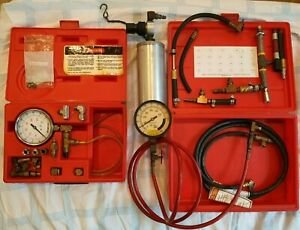 Snap On Mt377a Fuel Pressure Gauge Set And Otc 7448 Fuel Injection Cleaner Canis